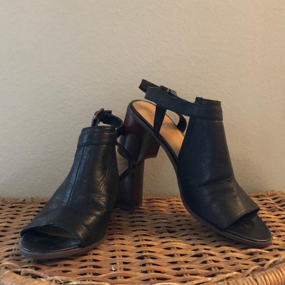 Franco Sarto Shoes - Chunky black heals